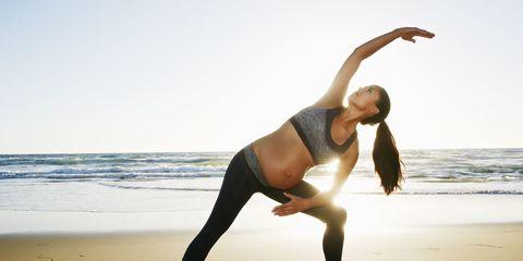 pregnant woman exercise