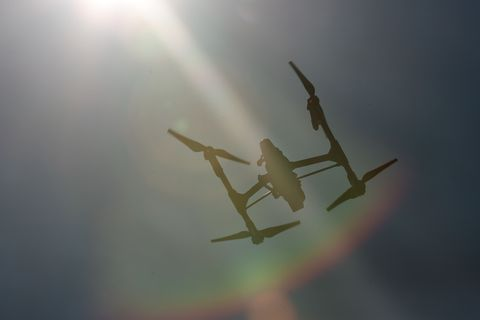 <p>Fly a drone.</p>