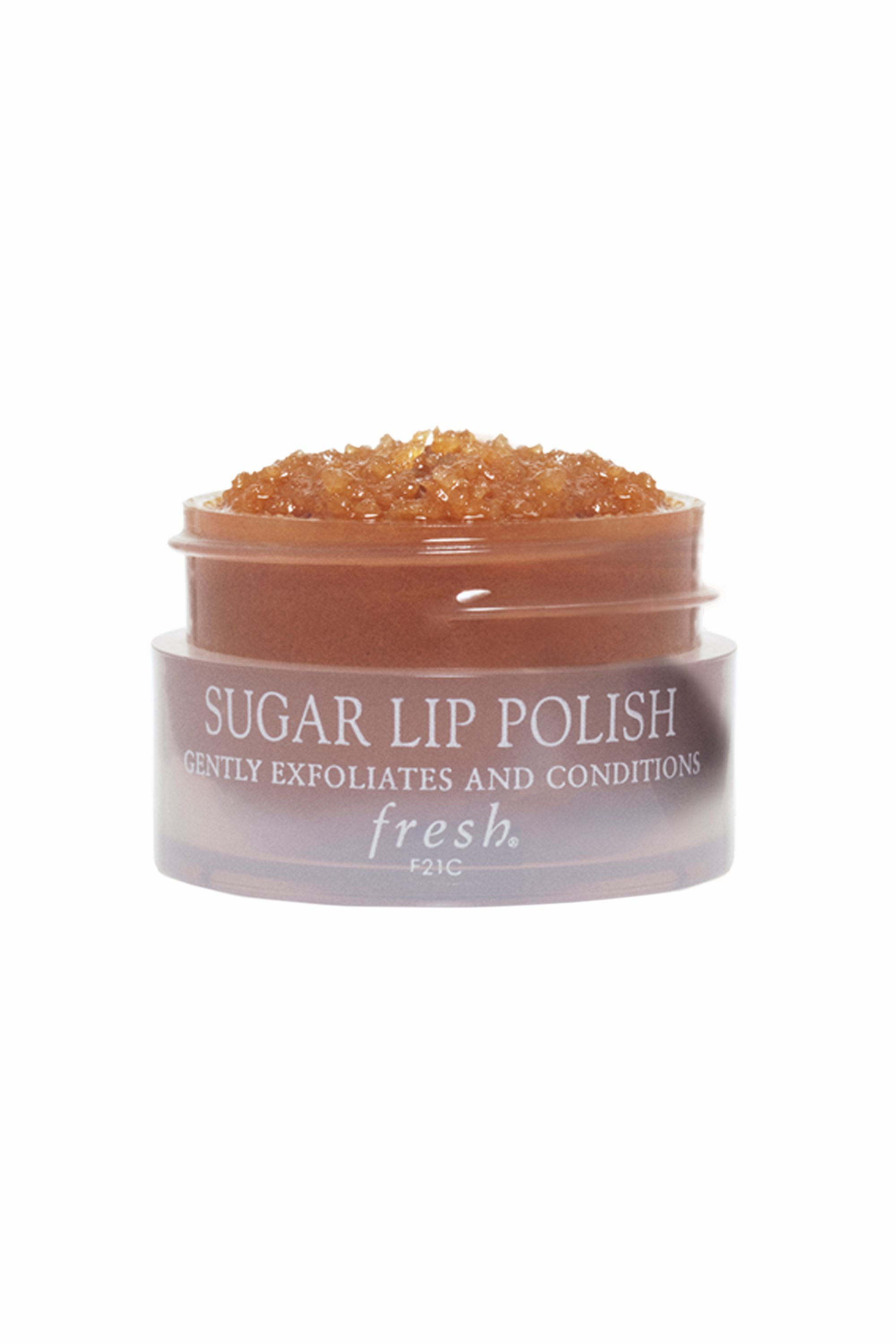 """<p>To get a polished finish and longer wear from your lipstick, make sure lips are perfectly smooth. Start by massaging a gentle lip scrub (try <a href=""""http://www.fresh.com/US/lipcare/sugar-lip-polish/H00001924.html"""" target=""""_blank"""">Fresh Brown Sugar Lip Polish</a>, $24), in small circular motions to buff away any flakiness or dry patches and create a clean canvas for the color. In a pinch, you can use a toothbrush to get the same effect.</p>"""