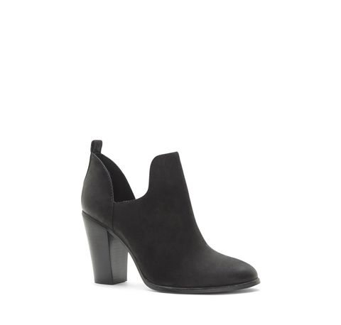 "<p>$99; <a href=""http://www.vincecamuto.com/vince-camuto-federa-%E2%80%93-side-cutout-bootie/VC-FEDERA.html?dwvar_VC-FEDERA_colormaterial=001%20OILNBK"" target=""_blank"">Vince Camuto</a></p>"