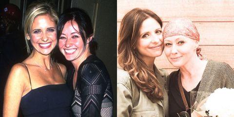 Sarah Michelle Gellar, Shannen Doherty