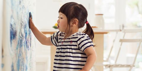 toddler wall painting
