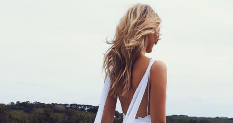 Brown, Hairstyle, Shoulder, Photograph, Summer, Sleeveless shirt, Beauty, Neck, Long hair, Sunlight,