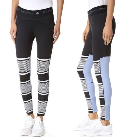 adidas by Stella McCartney Studio Clima Stripe Leggings