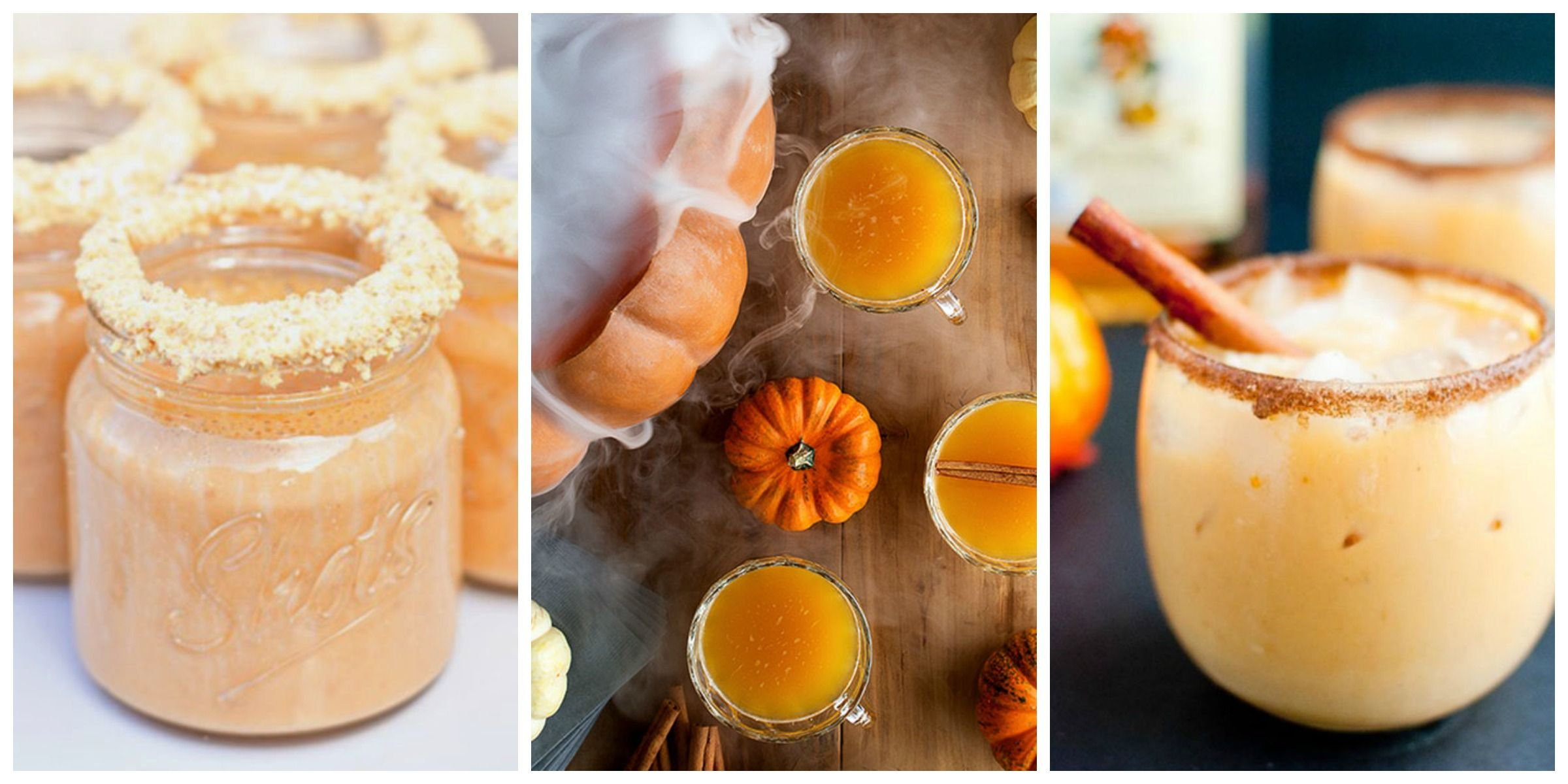 13 Pumpkin Cocktails to Drink All Fall