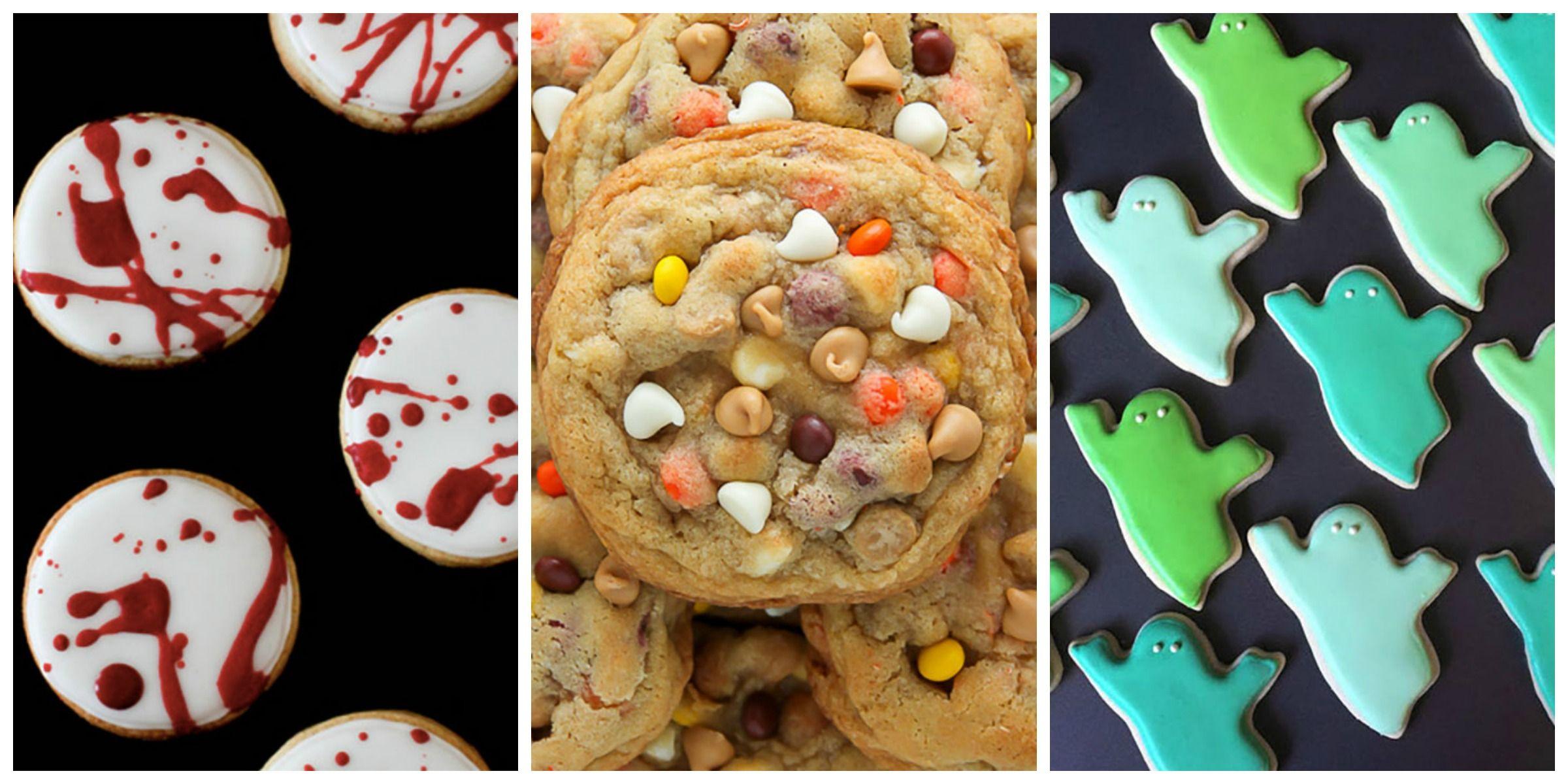 e2f35ccf11b 24 Best Halloween Cookie Recipes - Spooky Halloween Cookie Ideas