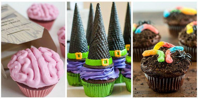 16 easy halloween cupcake recipes halloween cupcake for Easy halloween cakes to make at home