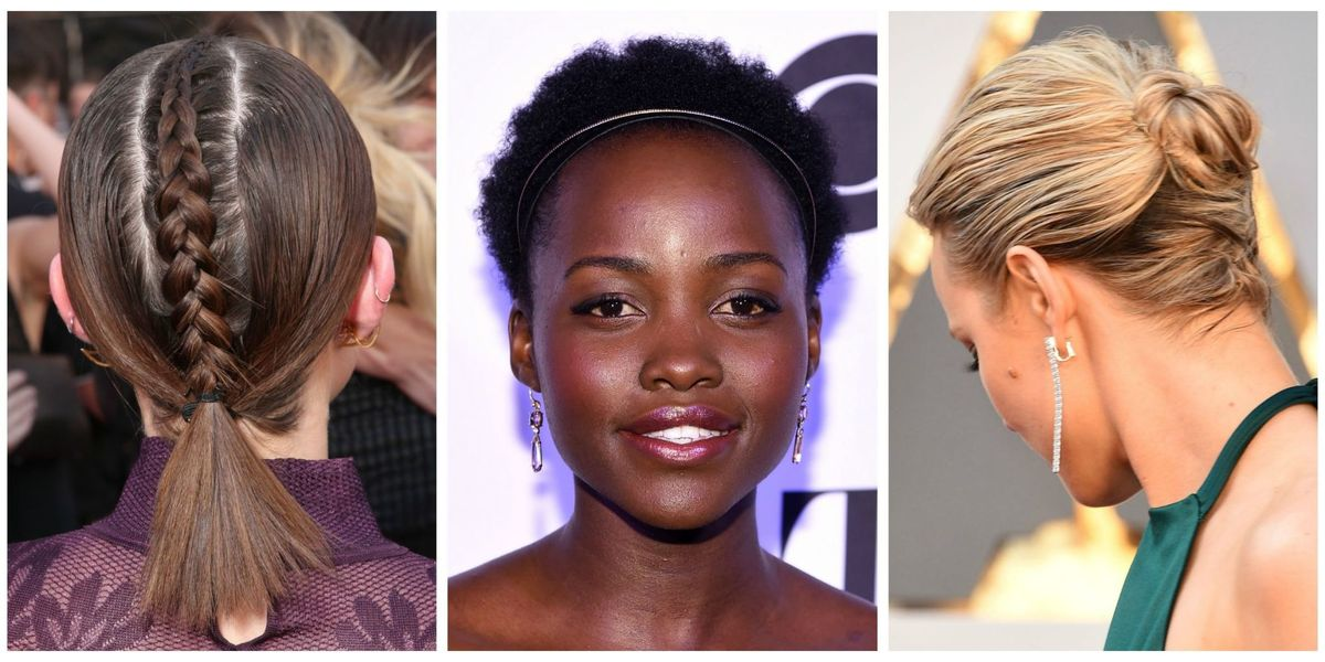 12 easy updos for short hair best short updo hairstyles to try pmusecretfo Image collections