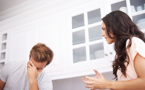 "<p>When you partner reveals they no longer have a job, don't freak out.  ""Don't go straight into the big questions like 'how are we going to support ourselves?' Take a deep breath and say, 'I'm really sorry that this has gone down, you must be very upset about this,'"" New York City therapist and relationship expert <a href=""http://www.sussmancounseling.com/"" target=""_blank"">Rachel Sussman</a> advises. ""The most important thing you can do in the first moments is be supportive. Validate their experience.""</p><p><strong>RELATED: <a href=""http://www.redbookmag.com/life/money-career/a42503/i-never-signed-up-to-be-the-primary-breadwinner/"" target=""_blank"">I Never Signed Up To Be The Primary Breadwinner, But My Husband Didn't Have A Job</a><a href=""http://www.redbookmag.com/life/money-career/a42503/i-never-signed-up-to-be-the-primary-breadwinner/""></a></strong><br></p>"
