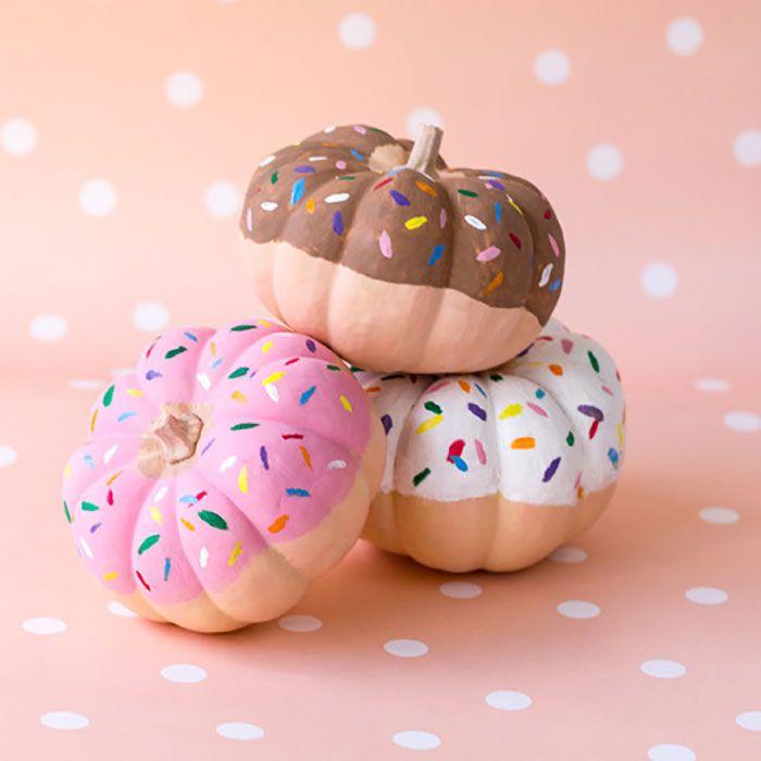 13 Best Painted Pumpkins For Halloween Cute Pumpkin Painting Ideas