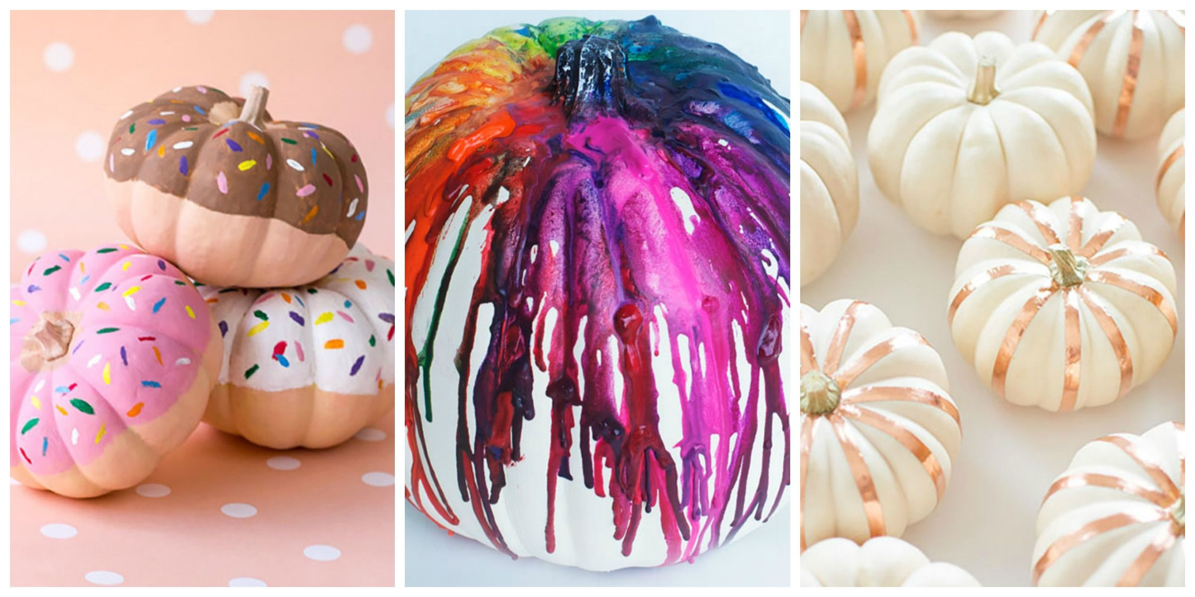 13 Best Painted Pumpkins for Halloween , Cute Pumpkin