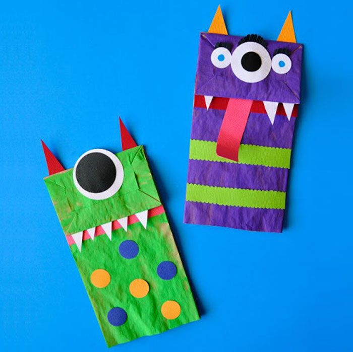 32 Easy Halloween Crafts For Kids Best Family Halloween Craft Ideas