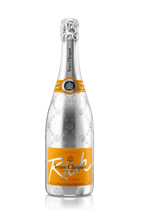 """<p>Inspired by mixology, Clicquot Rich is the newest champagne from the brand. Serve it over&nbsp;ice and mixed with fresh ingredients like&nbsp;fruits, vegetables, teas and herbs as an alternative to rosé.<span class=""""redactor-invisible-space"""" data-verified=""""redactor"""" data-redactor-tag=""""span"""" data-redactor-class=""""redactor-invisible-space""""></span></p><p><em data-redactor-tag=""""em"""" data-verified=""""redactor"""">Veuve Clicquot Rich<span class=""""redactor-invisible-space"""" data-verified=""""redactor"""" data-redactor-tag=""""span"""" data-redactor-class=""""redactor-invisible-space"""">,&nbsp;</span>$65;&nbsp;</em><a href=""""http://www.grandwinecellar.com/sku22924_?gclid=CJvjuMq53c4CFQyCaQod7HoHww""""><em data-redactor-tag=""""em"""" data-verified=""""redactor"""">grandwinecellar.com</em></a><span class=""""redactor-invisible-space"""" data-verified=""""redactor"""" data-redactor-tag=""""span"""" data-redactor-class=""""redactor-invisible-space""""></span></p>"""