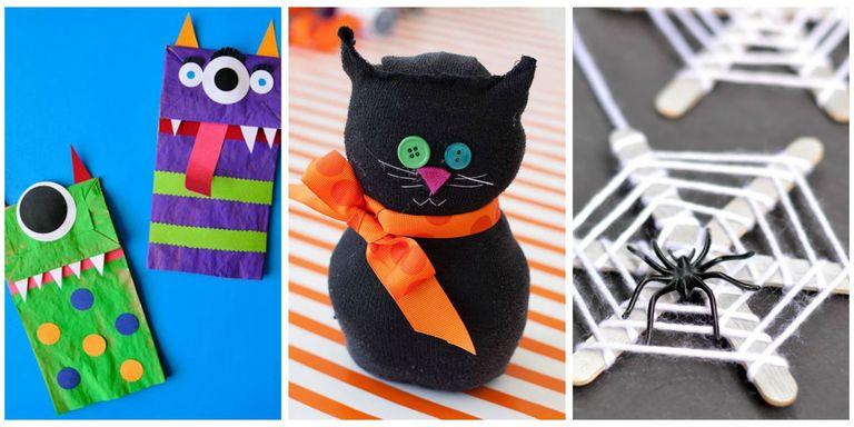 26 Easy Halloween Crafts for Kids - Best Family Halloween Craft Ideas