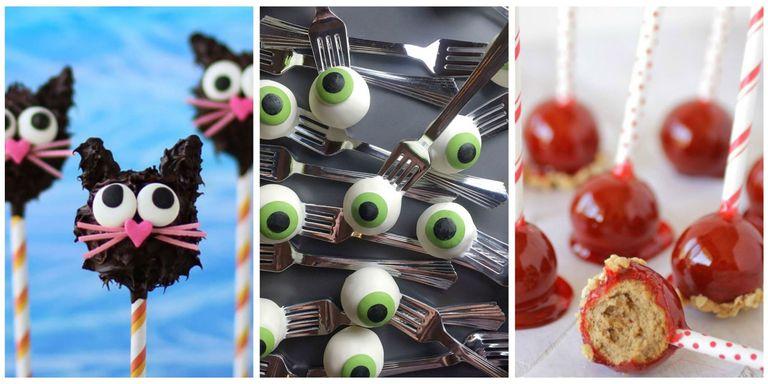 23 Cute Halloween Cake Pop Recipes - Halloween Themed Cake Pop Ideas