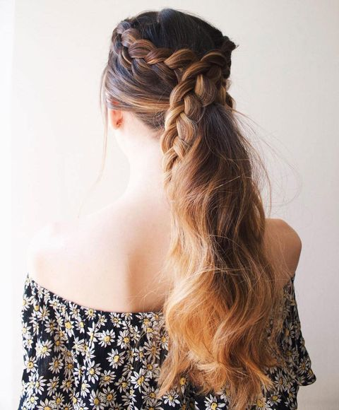 Peachy Ponytail Hairstyles 5 Easy Ponytail Looks For The Work Week Natural Hairstyles Runnerswayorg