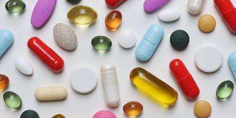 Pill, Capsule, Medicine, Colorfulness, Liquid, Pharmaceutical drug, Prescription drug, Amber, Magenta, Orange,