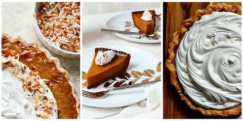 Food, Cuisine, Dishware, Ingredient, Pumpkin pie, Dessert, Plate, Serveware, Baked goods, Tableware,