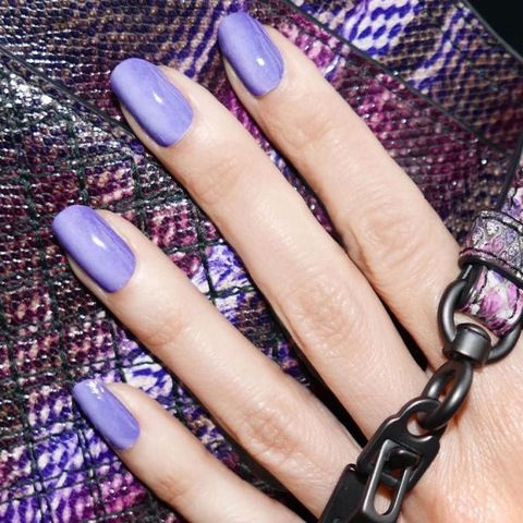 """<p>Instead of darker light from top to bottom, paint the sides of your nails darker and make the middle the&nbsp;lightest point for <a href=""""https://www.instagram.com/p/BIEFOGKDbfX/"""" target=""""_blank"""">a fun twist on the ombre trend</a>.</p>"""
