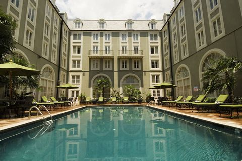 """<p>Offering a """"girlfriend getaway"""" package, which of course is code for Fun Bachelorette Times, the <a href=""""http://www.bourbonorleans.com/hotel-offers/girlfriend-getaway"""">Bourbon Orleans Hotel</a> in the French Quarterhas pretty much everything you need: a two-night stay, airport transfer, champagne and chocolates, robes, the requisitesouvenir beads, breakfast coupons for Café Du Monde, coupons for Hurricanes at Pat O'Briens, complimentary in-room movie rental, and a food and beverage credit. Basically, you're set.</p>"""