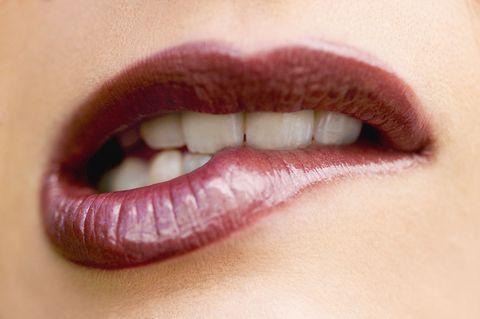 Lip, Cheek, Brown, Skin, Eyebrow, Eyelash, Pink, Jaw, Organ, Tooth,