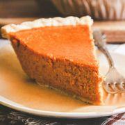 Dish, Food, Cuisine, Dessert, Ingredient, Baked goods, Baking, Pumpkin pie, Cake, Recipe,