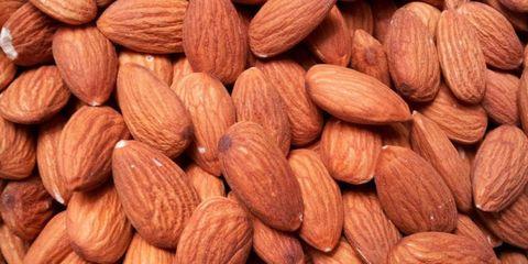 Ingredient, Food, Nut, Almond, Close-up, Produce, Dried fruit, Superfood, Nuts & seeds, Prunus,
