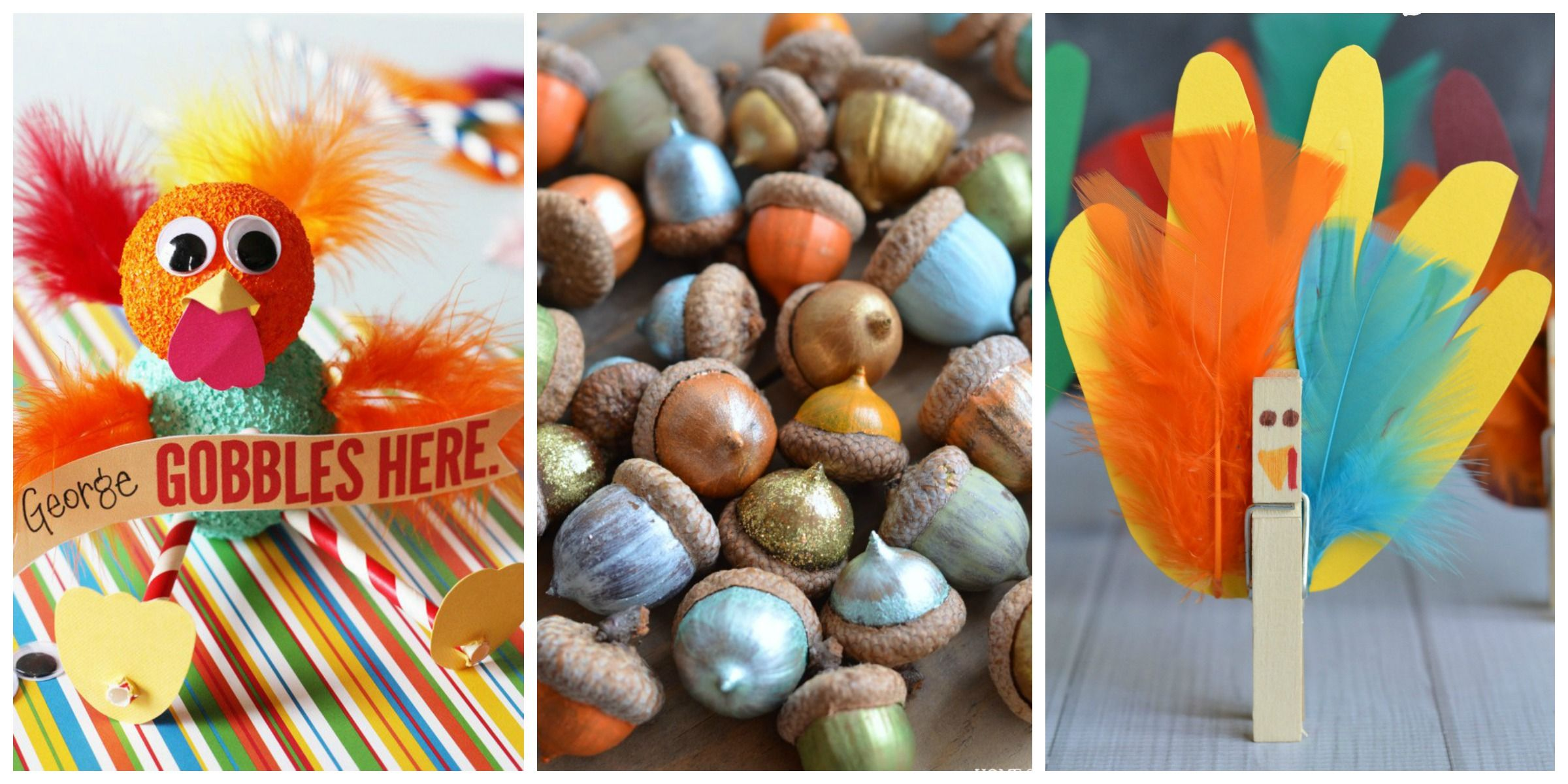 13 Easy Diy Thanksgiving Crafts For Kids Best Thanksgiving