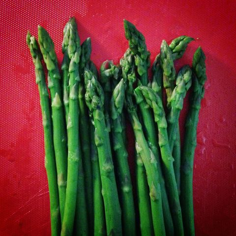 "<p>Load  up on a few of these nutrient-dense spears tonight! ""Asparagus contains vitamins A and C, which promote <a href=""http://www.redbookmag.com/beauty/makeup-skincare/g3278/tips-for-healthy-skin/"" target=""_blank"">healthy skin</a> and hair,"" says <a href=""http://www.tobyamidornutrition.com/"" target=""_blank"">Toby Amidor</a>, R.D., author of <i data-redactor-tag=""i"">The Greek Yogurt Kitchen</i>.&nbsp;<span>You know that if you look good, you feel good. And if you feel good, well, you know what spontaneous fun can come next. "" In addition to its high amounts of potassium and B vitamins, asparagus gives the body a boost of histamine which helps promote stronger orgasms,"" adds Scritchfield.&nbsp;</span></p><p><strong data-verified=""redactor"" data-redactor-tag=""strong"">RELATED:&nbsp;<a href=""http://www.redbookmag.com/love-sex/sex/features/a37932/scientists-are-studying-what-turns-women-off-and-heres-what-they-found-out/"" target=""_blank"">Scientists Are Studying What Turns Women Off and Here's What They Found Out</a><span class=""redactor-invisible-space"" data-verified=""redactor"" data-redactor-tag=""span"" data-redactor-class=""redactor-invisible-space""><a href=""http://www.redbookmag.com/love-sex/sex/features/a37932/scientists-are-studying-what-turns-women-off-and-heres-what-they-found-out/""></a></span></strong><br></p>"
