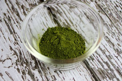 "<p>Matcha, a specially grown green tea, is packed with antioxidants that'll help your skin glow. ""You'd&nbsp&#x3B;have to drink 10 to 15 cups of green tea to equal the nutrients in one cup of matcha,""&nbsp&#x3B;says New York City nutritionist Brooke Alpert, R.D., C.D.N., and founder of&nbsp&#x3B;<a href=""http://www.b-nutritious.com/index.php"" target=""_blank"">B Nutritious</a>.&nbsp&#x3B;Why not get your daily dose with this goof-proof recipe from <a href=""https://greenblender.com/"" target=""_blank"">GreenBlender</a>, a smoothie service that delivers fresh, pre-proportioned ingredients to your doorstep.&nbsp&#x3B;""Matcha tea has a slightly bitter taste, so it's best to combine it with strong flavors like ginger and citrus,"" explains the company's founder, Jenna Tanenbaum.</p>"
