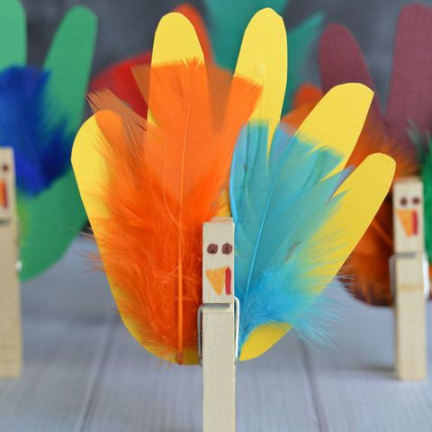 "<p>Chances are, you have most of the supplies needed for these turkeys already laying around your house. And doesn't that old traced-hand turkey look so much cuter with feathers?</p><p><strong data-verified=""redactor"" data-redactor-tag=""strong"">See more at <a href=""http://gluedtomycraftsblog.com/2015/10/10-turkey-kid-crafts-roundup.html"" target=""_blank"">Glued to My Crafts</a>.</strong></p><p><strong data-verified=""redactor"" data-redactor-tag=""strong"">RELATED: <a href=""http://www.redbookmag.com/home/decor/g3681/easy-thanksgiving-decor/"" target=""_blank"">18 Easy Thanksgiving Decor Ideas to Get Your Home In the Holiday Spirit</a><span class=""redactor-invisible-space"" data-verified=""redactor"" data-redactor-tag=""span"" data-redactor-class=""redactor-invisible-space""><a href=""http://www.redbookmag.com/home/decor/g3681/easy-thanksgiving-decor/""></a></span></strong><br></p>"