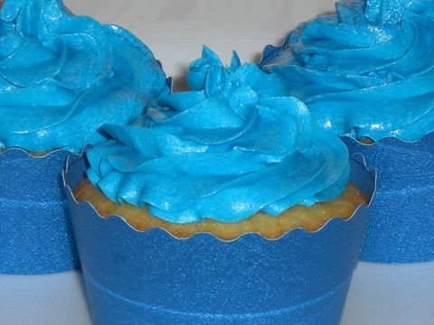 """<p>Nothing says, """"It's a boy!"""" quite like the """"It's a boy!"""" bunting and stork signs taped to every nonmoving surface at a baby shower, but Cookie Monster-blue buttercream is a close second. However, when people avoided grabbing a batch of cupcakes at a party recently, we learned an important fact: Fear of Blue Mouth*&nbsp;is real.&nbsp;</p><p><em data-redactor-tag=""""em"""" data-verified=""""redactor"""">*That's the official term for that moment when you bite into a food coloring-rich frosting and your teeth, gums and tongue are instantly stained, making it look like you went savage on Smurf Village.</em></p>"""