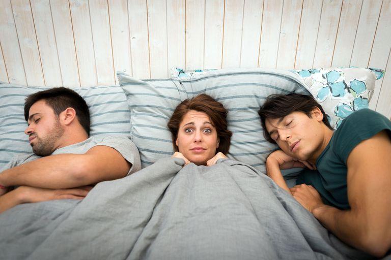 Hardcore bi threesome with hot milf and 2 guys 2 of 2 - 5 6