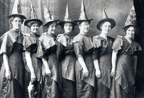<p>When in doubt, simply wear a black, pointy hat.&nbsp;</p>