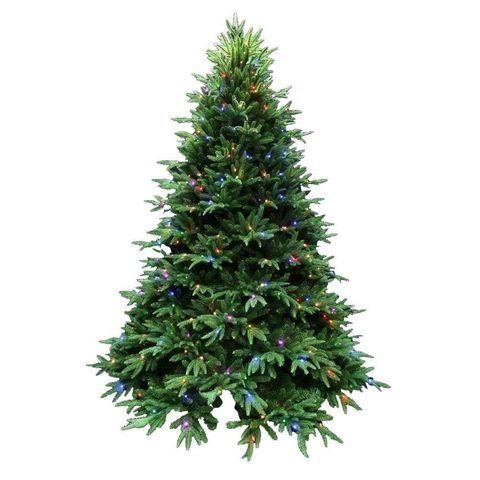 Santa's Best 7.5 ft. Splendor Spruce EZ Power Artificial Christmas Tree