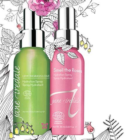 Lemongrass and Rose Hydration Sprays by Jane Iredale