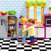 Toy, Animation, Games, Indoor games and sports, Home appliance, Play, Kitchen appliance, Cabinetry, Animated cartoon, Major appliance,