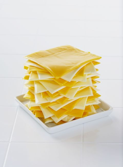 """<p>I mean, seriously?In case your college education failed you, there's a big, wonderful world of cheeses out there for your taste buds to explore, and the real stuff will blow those fake slices away. <a href=""""http://www.delish.com/cooking/recipe-ideas/g2815/best-grilled-cheese-recipes/"""">Grilled cheese</a> is 10times better with cheddar, gruyere, and gouda anyway.</p>"""