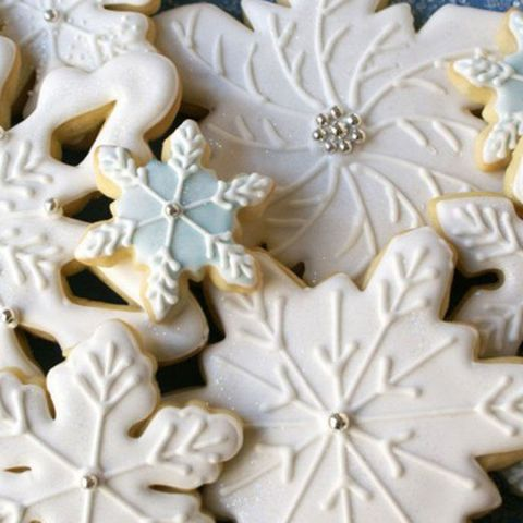 "<p>Keep it classy with&nbsp;white-on-white&nbsp;snowflakes (a few sparkly accents can't hurt, either).&nbsp;</p><p><strong data-verified=""redactor"" data-redactor-tag=""strong"">Get the recipe at <a href=""http://www.sweetstoimpress.com/2011/12/decorated-snowflake-cookies/"" target=""_blank"">Sweets to Impress</a>.</strong><br></p><p><strong data-verified=""redactor"" data-redactor-tag=""strong"">RELATED:&nbsp;<a href=""http://www.redbookmag.com/food-recipes/advice/g1355/christmas-cookie-recipes/"" target=""_blank"">40 Christmas Cookies That Are Basically An Extra Gift to Yourself</a><span class=""redactor-invisible-space""><a href=""http://www.redbookmag.com/food-recipes/advice/g1355/christmas-cookie-recipes/""></a></span></strong></p>"