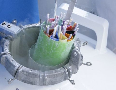 Paint, Aqua, Plastic, Art paint, Cylinder, Desk organizer,