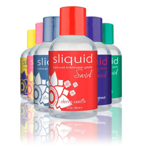 "<p>If you want to (literally) switch up the flavor of what you're doing, try <a href=""http://sliquid.com/full-width/sliquid-naturals/naturals-swirl/"">Sliquid Natural Swirls</a>. They're water-based and use natural favoring plus a little bit of aspartame to create a sweet taste. Sliquid says that these flavors — which range from pink lemonade to strawberry pomegranate to piña colada and beyond — are ""intended to enhance your taste, not disguise<span class=""redactor-invisible-space"" data-verified=""redactor"" data-redactor-tag=""span"" data-redactor-class=""redactor-invisible-space"">"" it, because you shouldn't be ashamed of what's going on down there.</span>&nbsp; ($12;&nbsp;<a href=""http://sliquid.com/shop/naturals-flavored-lubricants/"" target=""_blank"">Sliquid.com</a>)</p><p><strong data-redactor-tag=""strong"" data-verified=""redactor"">RELATED: <a href=""http://www.redbookmag.com/love-sex/a39346/things-no-one-tells-you-about-receiving-oral-sex/"" target=""_blank"">14 Things No One Tells You About Receiving Oral Sex</a></strong><br> </p>"