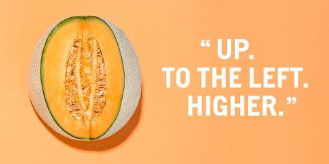 Vegetable, Produce, Font, Orange, Ingredient, Natural foods, Muskmelon, Cantaloupe, Peach, Staple food,