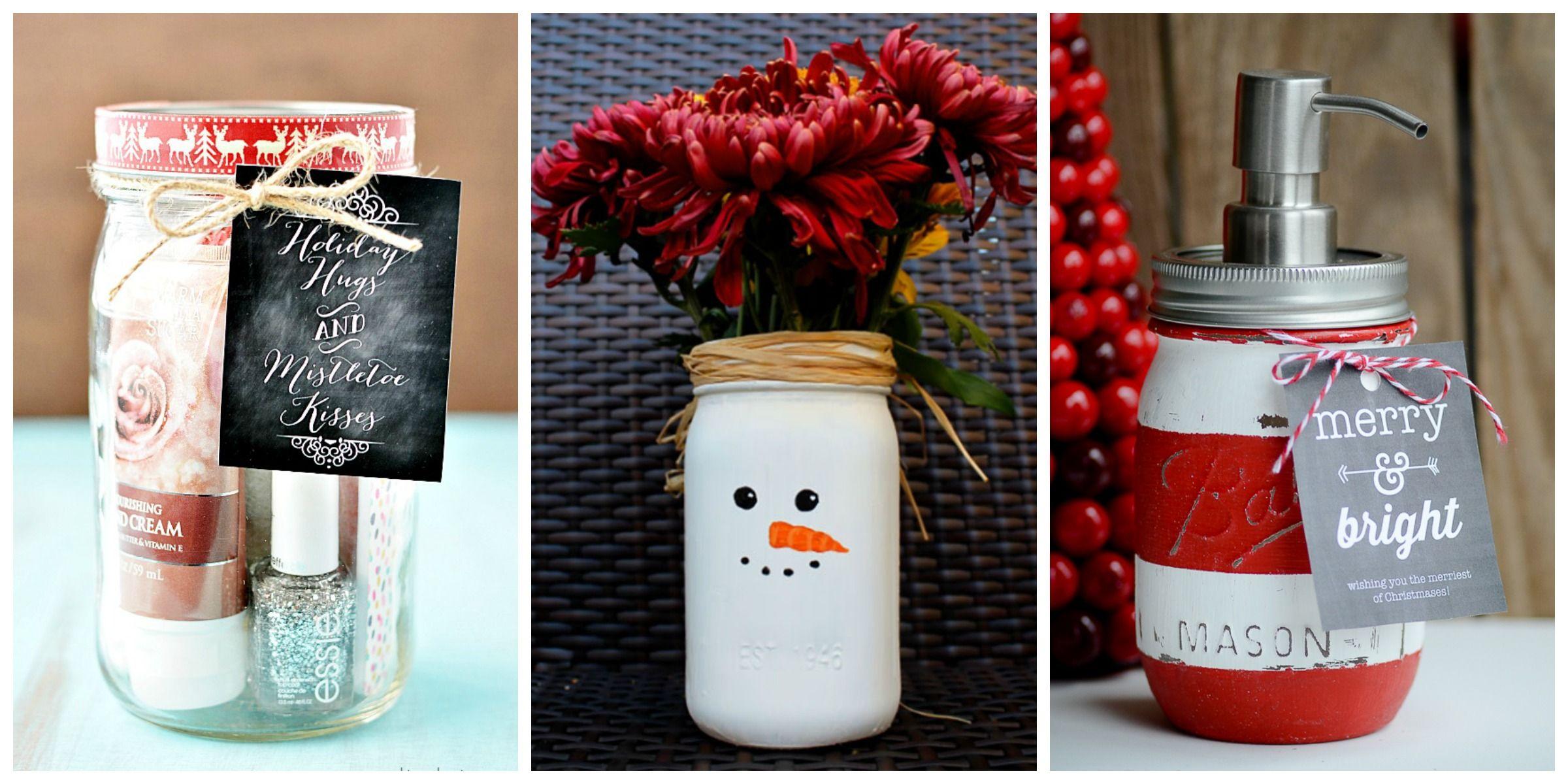 25 DIY Mason Jar Gift Ideas - Homemade Christmas Gifts in Mason Jars