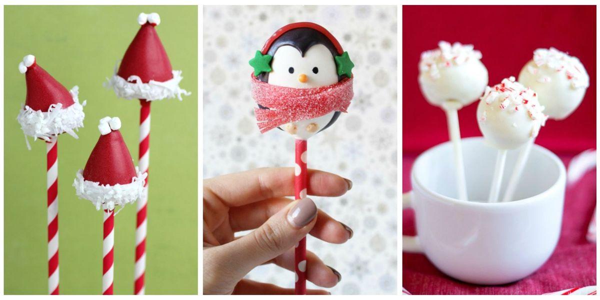 17 Easy Christmas Cake Pop Ideas Best Christmas Cake Pop