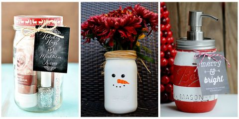 28 diy mason jar gift ideas homemade gifts in mason jars skip the holiday shopping craze and go with these diy gifts housed in the classic vessel solutioingenieria Gallery