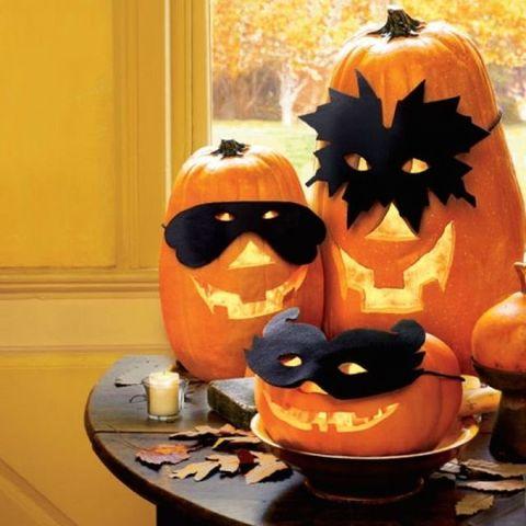 Pumpkin masks