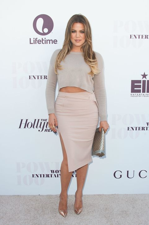 """<p>""""First I'm too fat and now I'm too skinny. I love this game!!"""" she <a href=""""http://www.marieclaire.com/celebrity/news/a21854/khloe-kardashian-skinny-shaming/"""" target=""""_blank"""" data-tracking-id=""""recirc-text-link"""">once tweeted</a>. On life before her 40-pound weight loss, she  <a href=""""http://site.people.com/style/khloe-kardashian-on-being-excluded-from-the-fashion-industry-for-her-weight-stylists-had-nothing-in-my-size/"""">told <em data-redactor-tag=""""em"""">Harper's Bazaar</em></a>:<i data-redactor-tag=""""i""""> </i>""""I definitely think the fashion industry, and people in general, look at me more now that I've lost weight. Even on shoots, I would never have options for clothing...I was too much work for [stylists] or they had nothing in my size. I wasn't even that crazy big!""""</p>"""