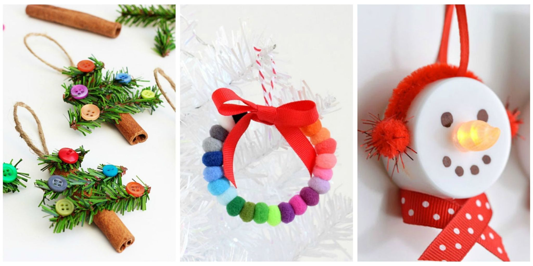59 Unique DIY Christmas Ornaments , Easy Homemade Ornament Ideas