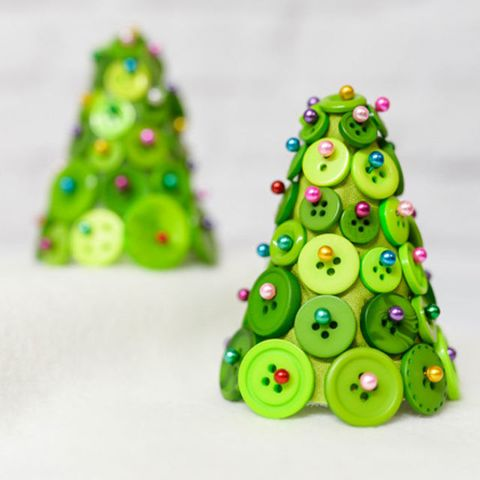 Christmas Tree Craft.59 Unique Diy Christmas Ornaments Easy Homemade Ornament Ideas