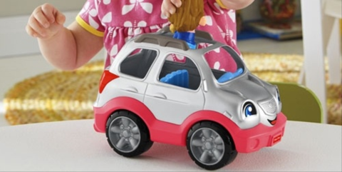 Automotive design, Toy, Gesture, Baby toys, Houseplant, Model car, Automotive wheel system, Rolling, Hubcap, Plastic,